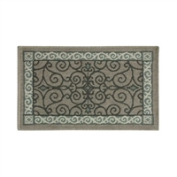 Pilgrim Eastly Leaf Hearth Rug (19630-1)