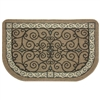 Pilgrim Eastly Scroll Hearth Rug (19637-1)