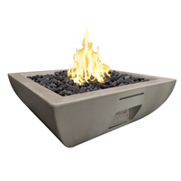 American Fyre Designs Bordeaux Square Fire Bowl