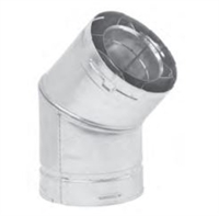 Metal-Fab Direct Vent 45 Degree Swivel Elbow