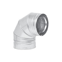 Metal-Fab Direct Vent 90 Degree Swivel Elbow