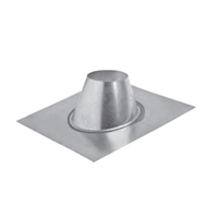 "Metal-Fab 5"" Direct Vent Flashing 1/12 - 5/12"