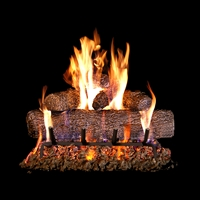RealFyre 18-in Vented Live Oak (68-YE), Natural Gas