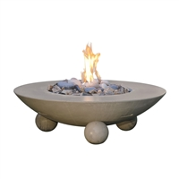 American Fyre Design Versailles Firetable w/ Ball Feet