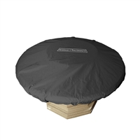 "American Fyre Design 54""/60"" Round Firetable Cover"
