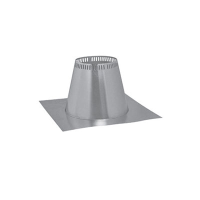"Metal-Fab 8"" Flat Tall Cone Flashing"
