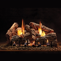 Empire 18-IN Ravenwood Log Set with Vent Free Slope Glaze Burner