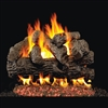 Real Fyre Royal English Oak 30-in Gas Logs with Burner Kit Options