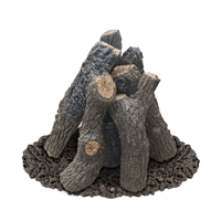American Fyre Design Black Country Oak Log Set