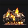 Real Fyre Charred Royal English Oak 24-in Logs Only
