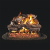 Real Fyre Charred Cedar 30-in Logs Only