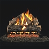 Real Fyre Charred Oak Logs 18-in with Burner Options