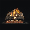 Real Fyre Charred Oak Gas Logs 24-in Logs Only