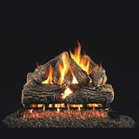 Real Fyre Charred Oak Gas Logs And Burner Kit