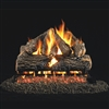 Real Fyre Charred Oak Gas Log 30-in