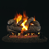 Real Fyre Charred Forest Oak Logs 24-in With Burner Options
