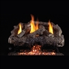 Real Fyre Charred Frontier Oak 24-in Vent-Free Logs Only