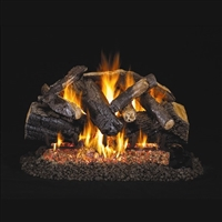 Real Fyre Charred Majestic Oak 24-in Gas Logs Only