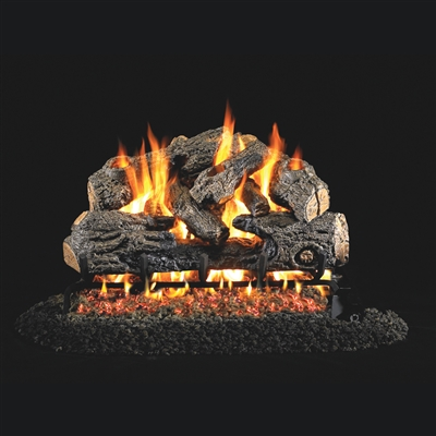 Real Fyre Charred Northern Oak 18-in Logs Only