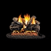 Real Fyre Charred Split Oak 30-in Logs Only