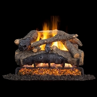 Real Fyre Colonial Oak 18-in Gas Logs with G52 Burner Kit Options