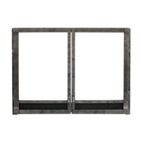 Empire Forged Iron Frame w/ Operable Doors