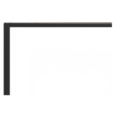 "Empire Boulevard Direct Vent 36"" 1-in Beveled, Black"