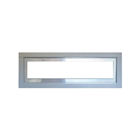 Empire Stainless Steel Frame with Glass Window