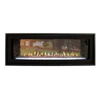 Empire Boulevard Direct Vent Linear Fireplace See-Through 48""