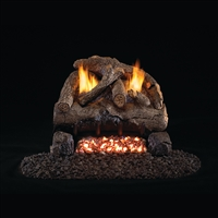 Real Fyre Evening Fyre Vent Free Gas Logs 16/18-in with G18 Burner Options