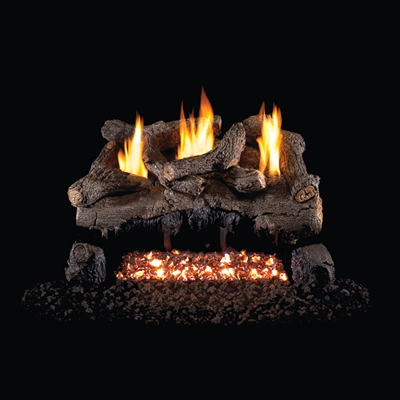 Real Fyre Evening Fyre 30-in Vent Free Gas Logs with G18 Burner Kit