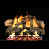 Real Fyre Charred Evergreen 18-in Logs with G52 Burner Kit Options