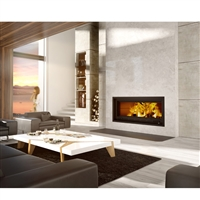 Valcourt FP16 St-Laurent - Linear Wood Burning Fireplace