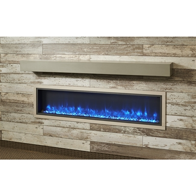 "Outdoor Great Room Gallery Mantel - Cove Grey 5""H x 8""D"