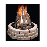 Grand Firepit Logs 24-In 8 Log Set