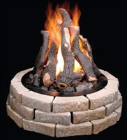 Grand Fireplace 36-In Logs Only (12)