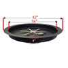 36-In Inner Diameter Pan, 14 Gauge