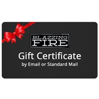 Blazzing Fire Gift Certificate