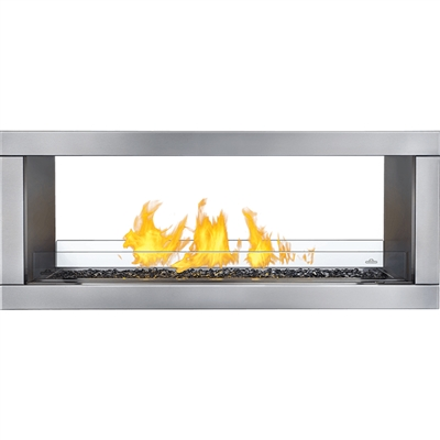 Napoleon Galaxy 48 See Thru Outdoor Gas Fireplace