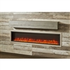 "Outdoor Great Room Gallery Mantel - Washed Cedar 8""H x 8""D"