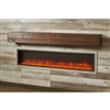 "Outdoor Great Room Gallery Mantel - Aged Cedar In Tavern 8""H x 8""D"