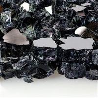 Fire Glass Plus 1/2-IN Gunmetal Reflective Fire Glass