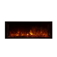 "Modern Flames Landscape 40"" x 15"" FullView Built In Electric Fireplace"