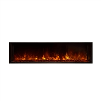 "Modern Flames Landscape 60"" x 15"" Full View Built In Electric Fireplace"