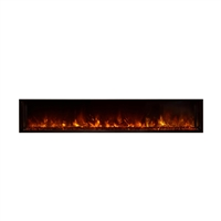 "Modern Flames Landscape 80"" x 15"" Full View Built In Electric Fireplace"