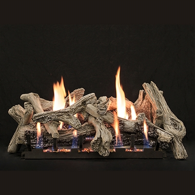 Empire 24-IN Vent-Free Driftwood-Burncrete Logs