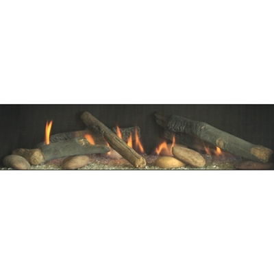 Empire Rustic Log Set for DVLL Fireplaces