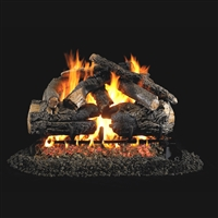 Real Fyre Pioneer Oak 30-in Gas Logs Only