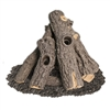 American Fyre Designs Prairie Oak Outdoor Gas Logs