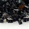1/4-In Midnight Black Reflective Fireglass 10-Lb